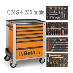 Beta C24S-7 + 235 outils